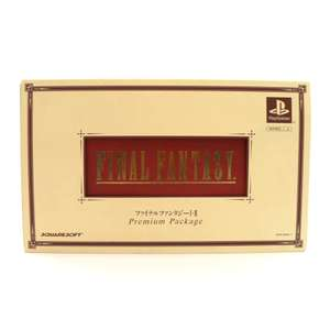 Final Fantasy Premium Package Komplett FF I + FF II + Figuren