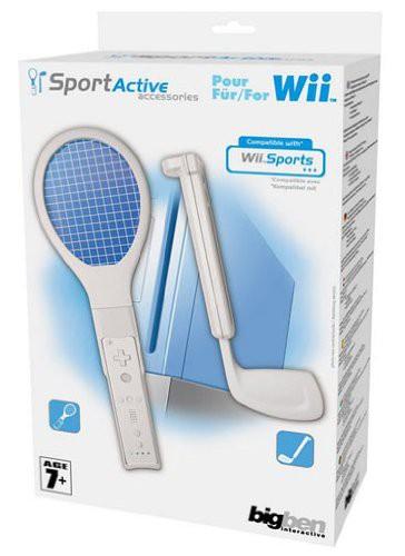 Sports Pack 1: Tennis- und Golfschläger-Aufsatz [BigBen]