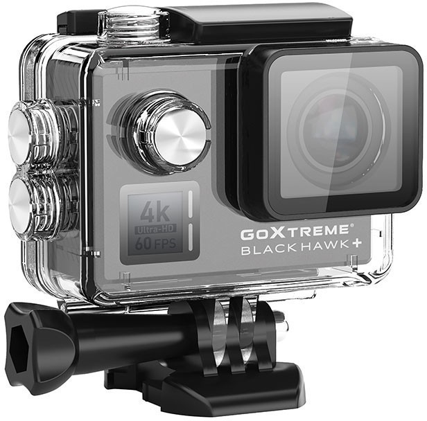 Actioncam Blackhawk+ 4K Ultra HD 60fps #schwarz [GoXtreme ]