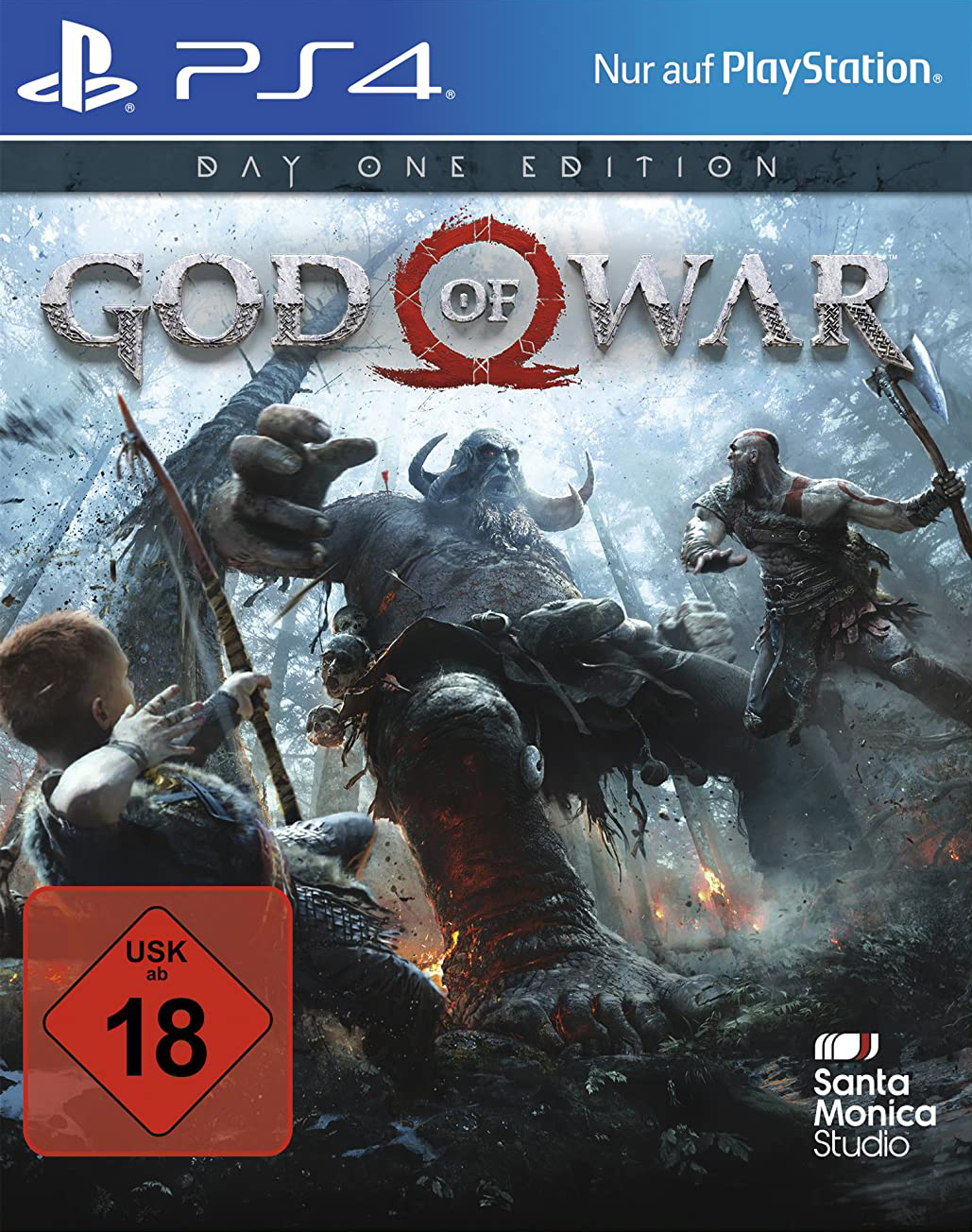 PS4 - God of War #Day One Edition