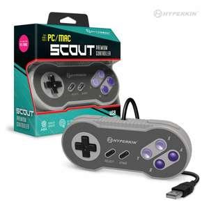 Controller / Pad Scout Premium SNES-Style USB for PC / Mac #grau [Hyperkin]