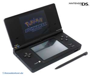 Konsole DSi #schwarz Pokemon Edition + Netzteil