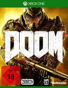Doom 2016 #UAC Pack + Handbuch + Aufnäher + Poster