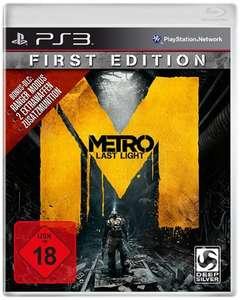Metro: Last Light #First Edition
