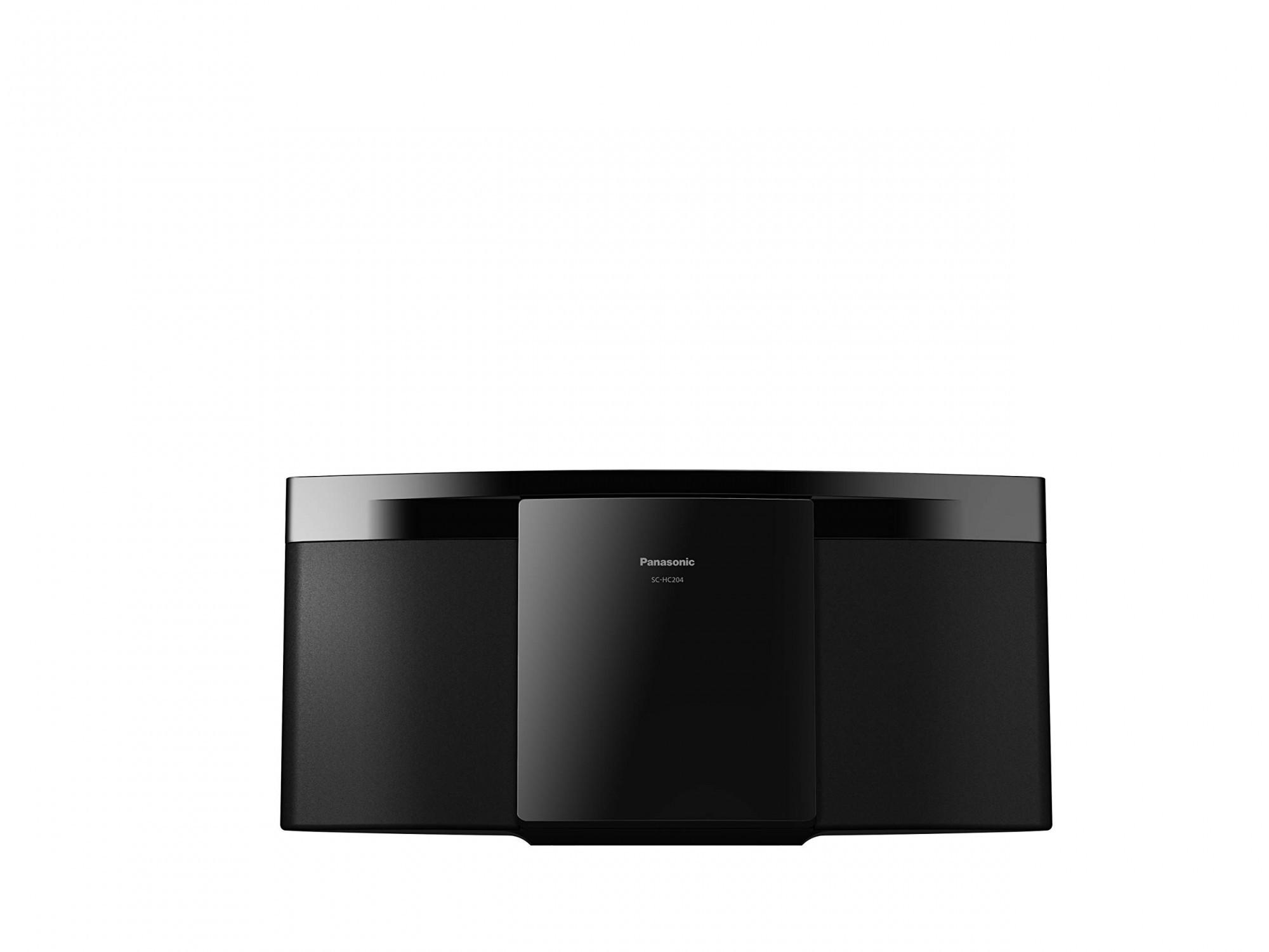 Panasonic SC-HC204EG-K Micro HiFi System #schwarz