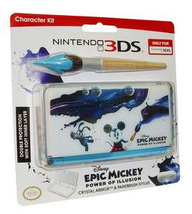 Epic Mickey: Power Of Illusion Crystal Armor + Paintbrush Stylus