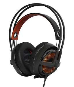Steelseries Siberia 350 RGB-beleuchtetes USB Stereo Headset #schwarz-orange