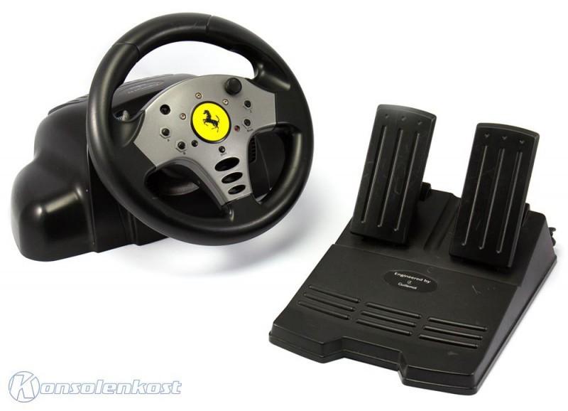 Lenkrad / Racing / Steering Wheel - Ferrari / R [Guillemot]