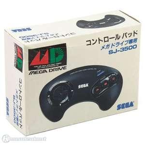 Original 3-Button-Controller / Control Pad SJ-3500 [SEGA]