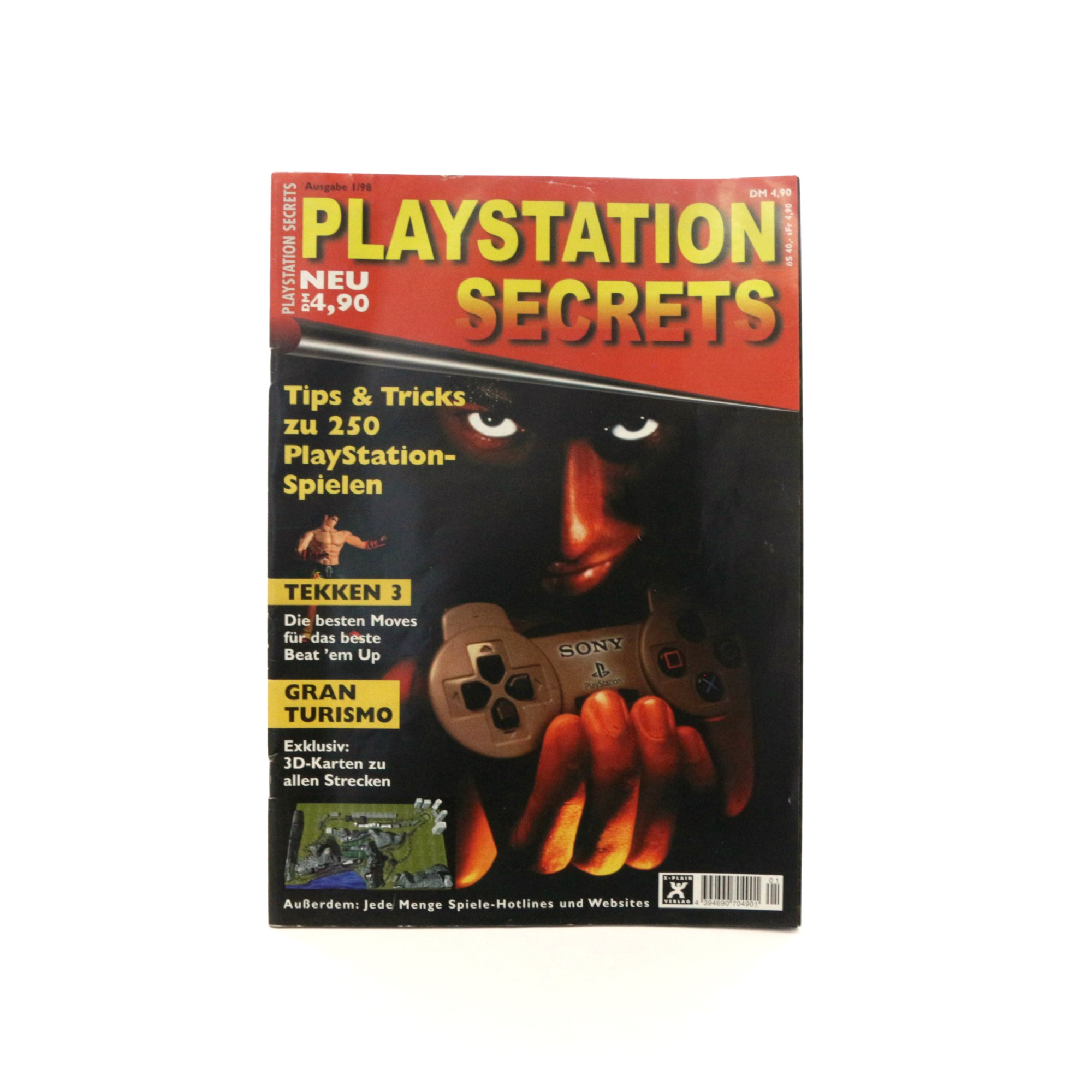 Playstation Secrets Ausgabe 1/98