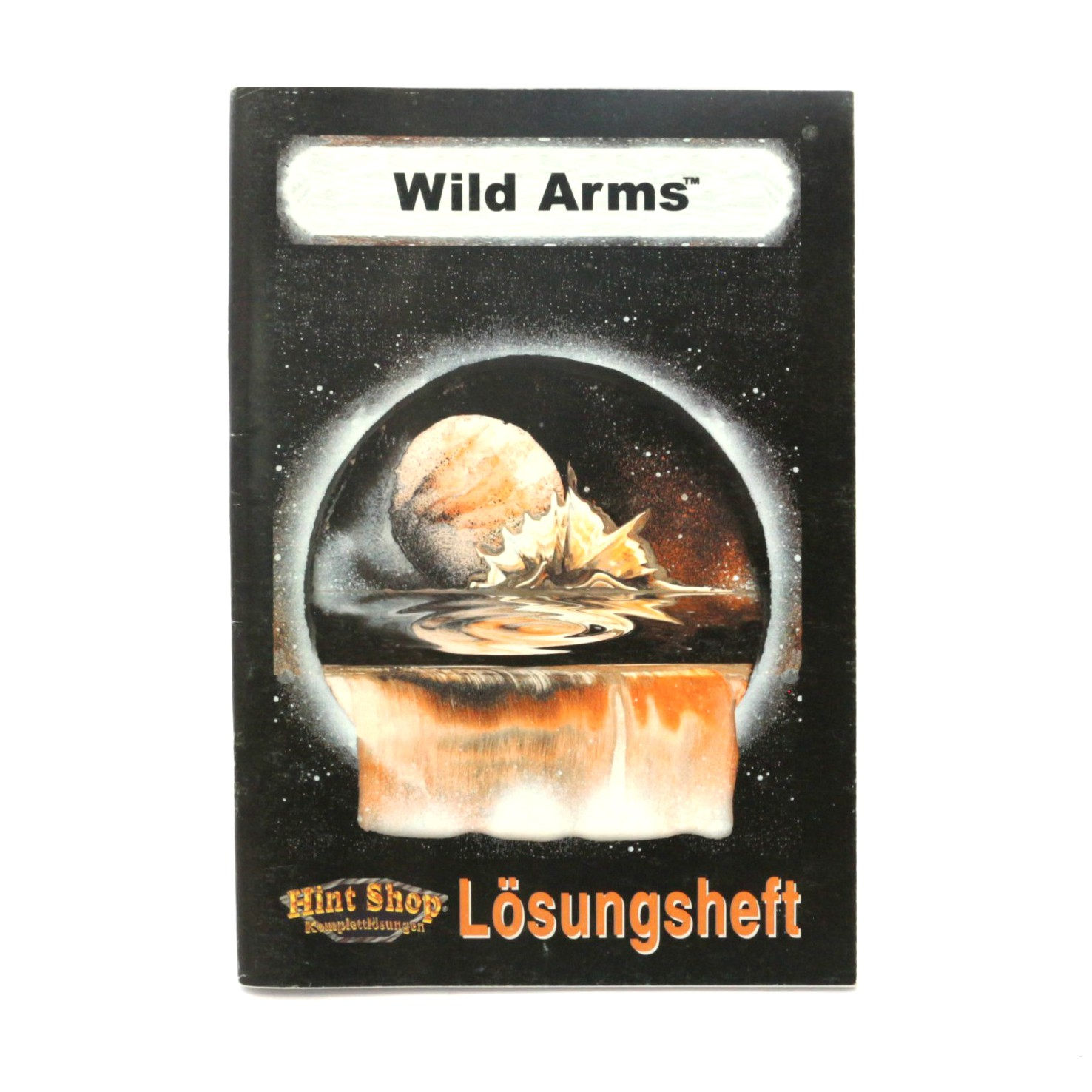 Wild Arms Lösungsheft / Lösungsbuch / Strategy Guide