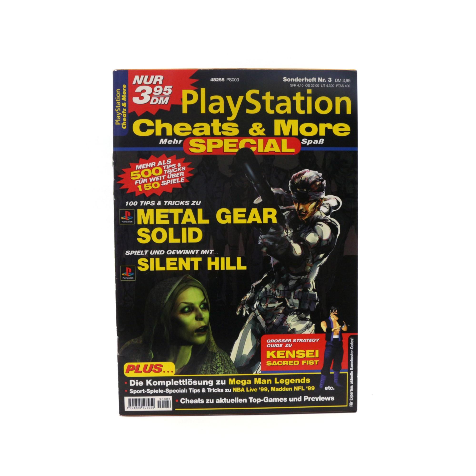 Playstation Cheats & More Sonderheft Nr. 3