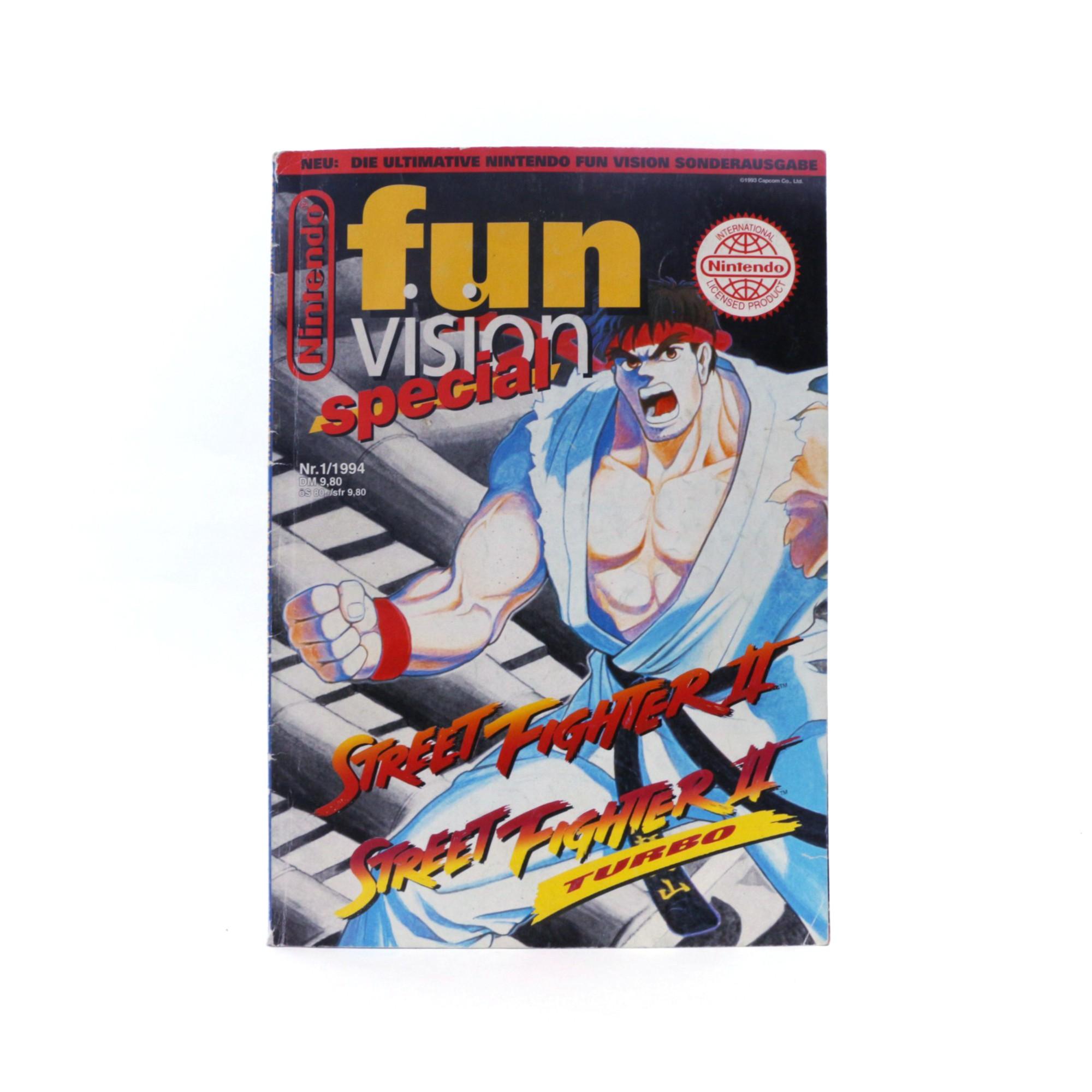 Nintendo Fun Vision Special 1/94: Streetfighter II + Turbo