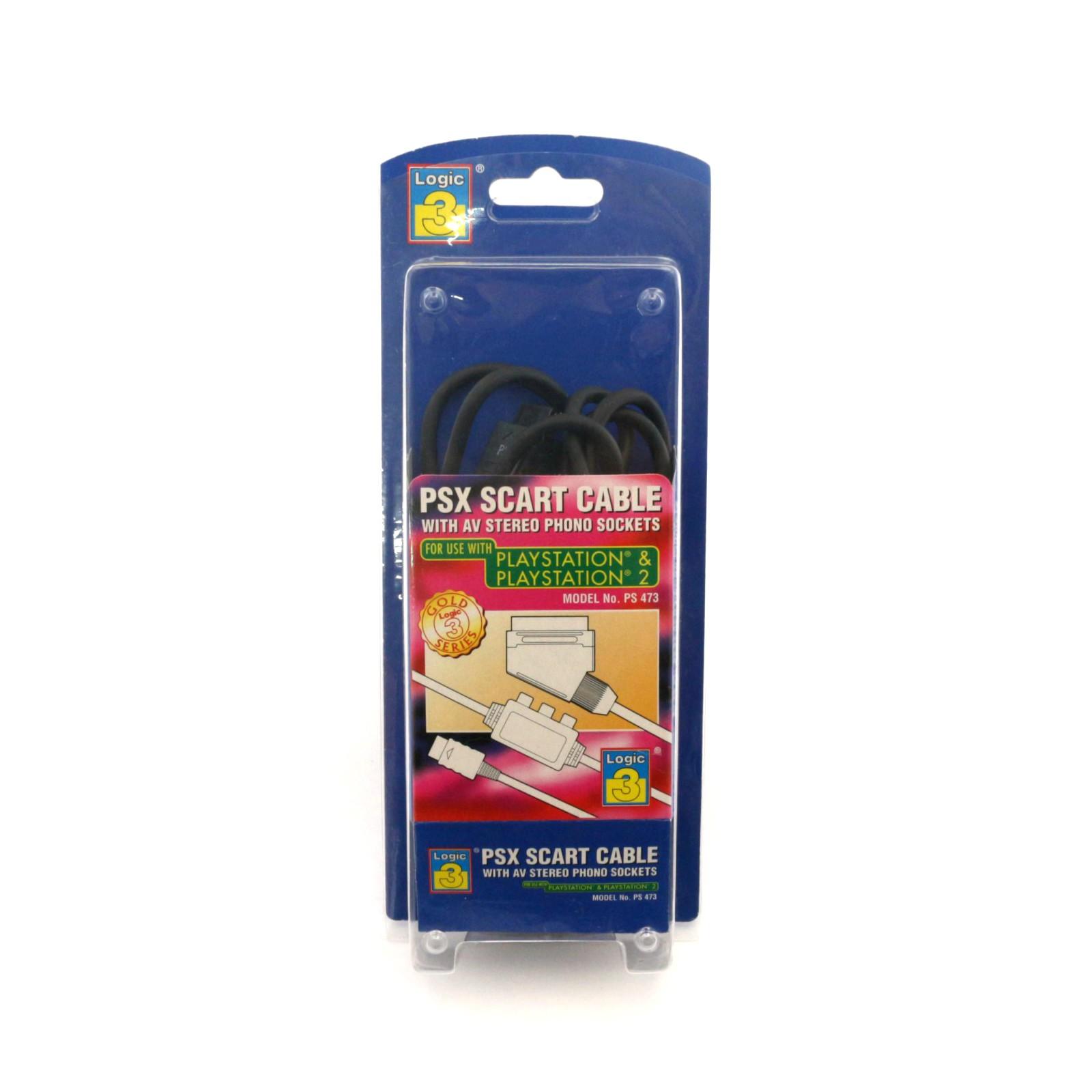 RGB Scartkabel / Scart Kabel mit AV-Out [Logic 3]