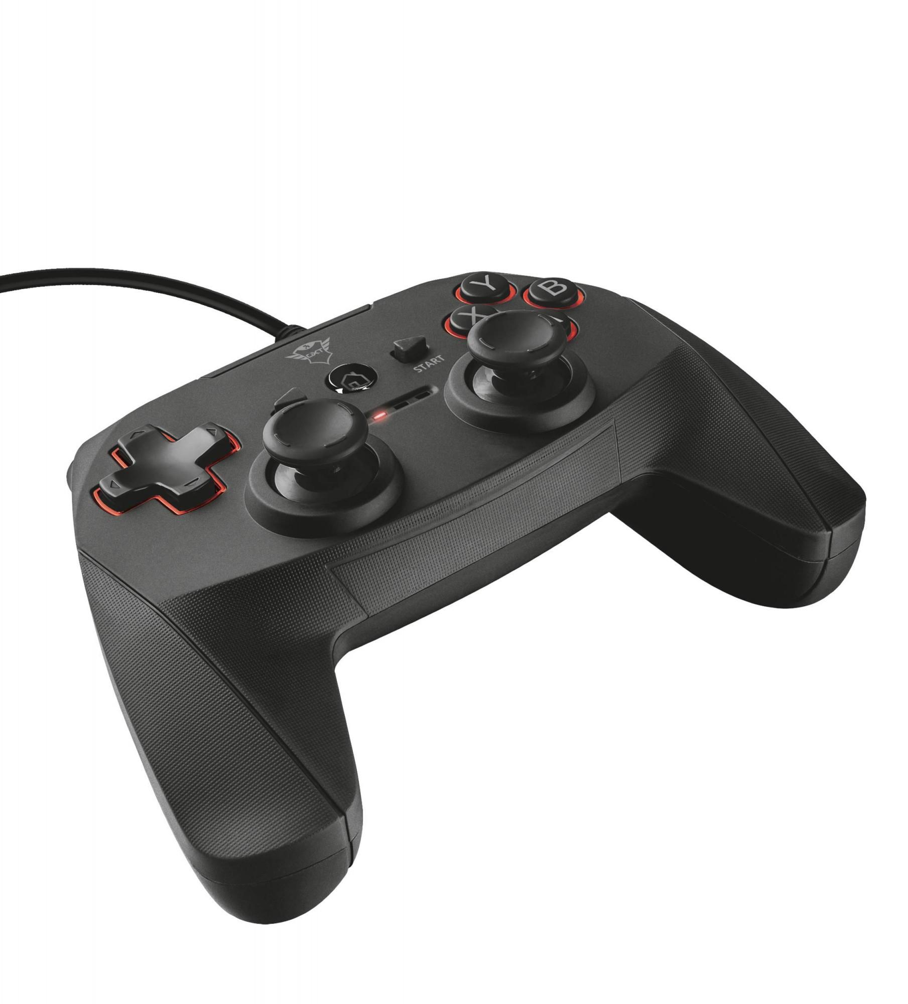 Wired Controller / Gamepad GXT 540 #Schwarz [Trust]