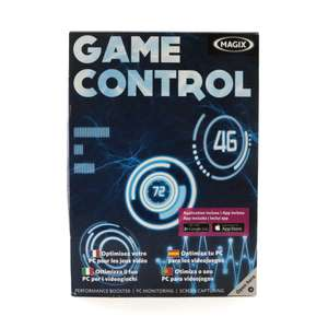 Game Control: Performance Booster / Monitoring / Screen Capturing [Magix]