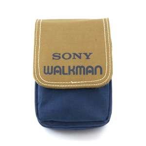 Original Sony Walkman Tasche / Carry Case / Travel Bag #Blau