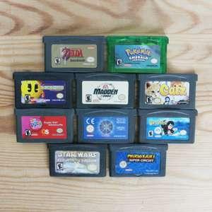 10 GameBoy Spiele zum TOP Preis! - GBA 375
