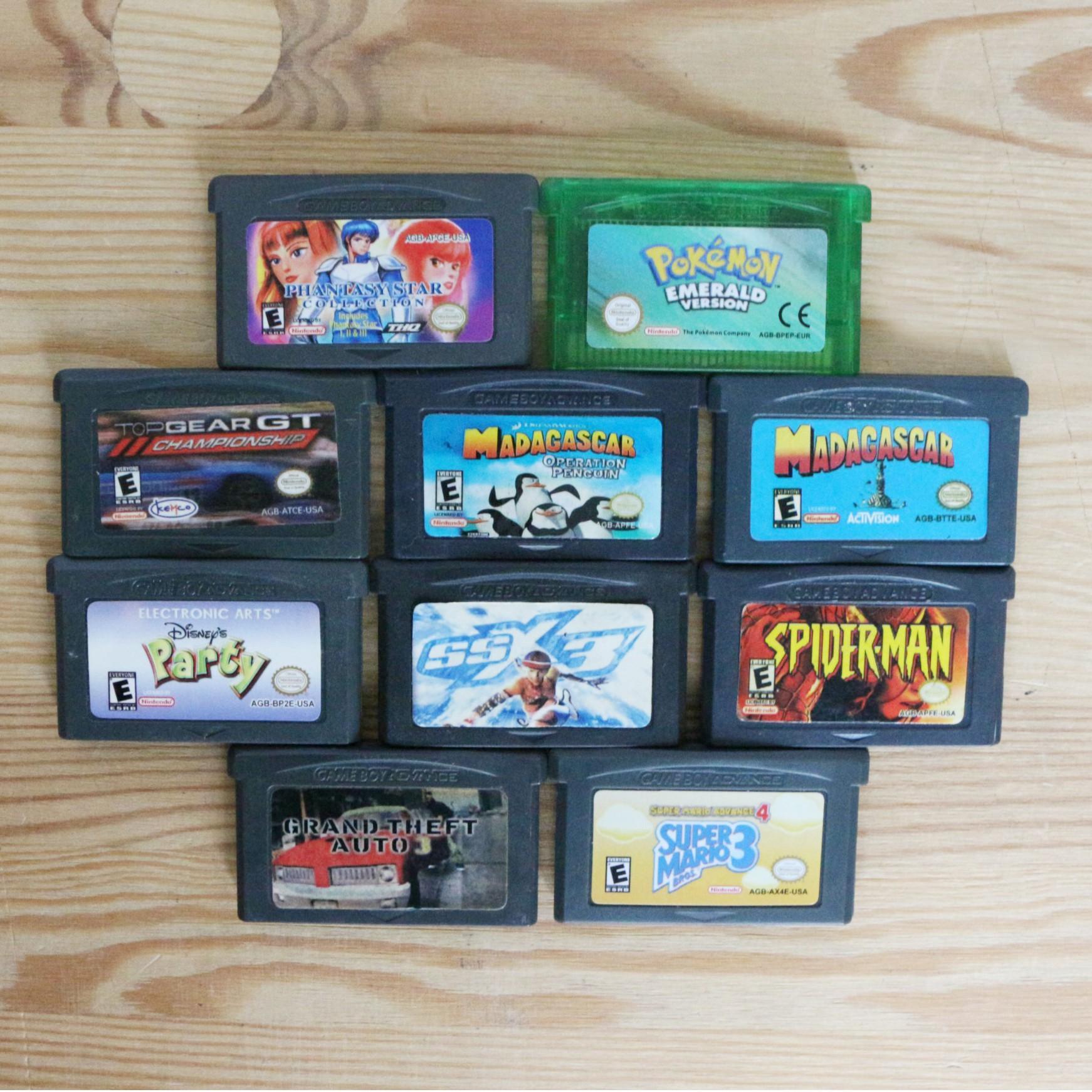 10 GameBoy Spiele zum TOP Preis! - GBA 376
