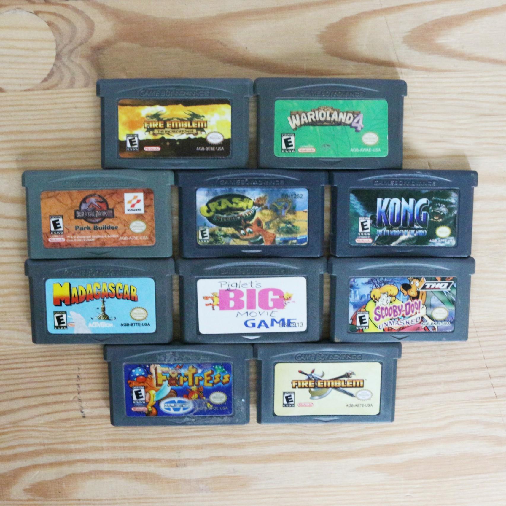 10 GameBoy Spiele zum TOP Preis! - GBA 378