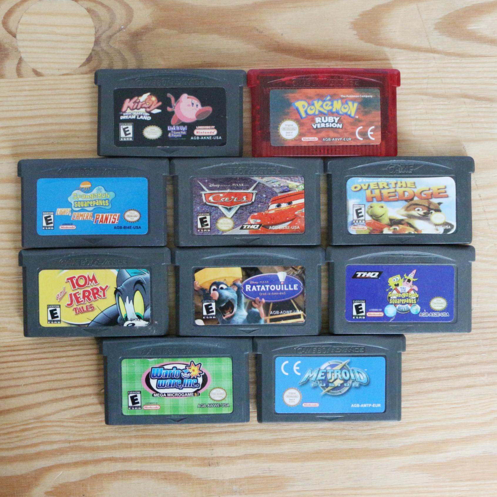 10 GameBoy Spiele zum TOP Preis! - GBA 390