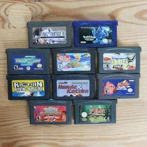 10 GameBoy Spiele zum TOP Preis! - GBA 392