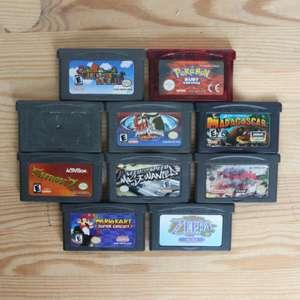 10 GameBoy Spiele zum TOP Preis! - GBA 399