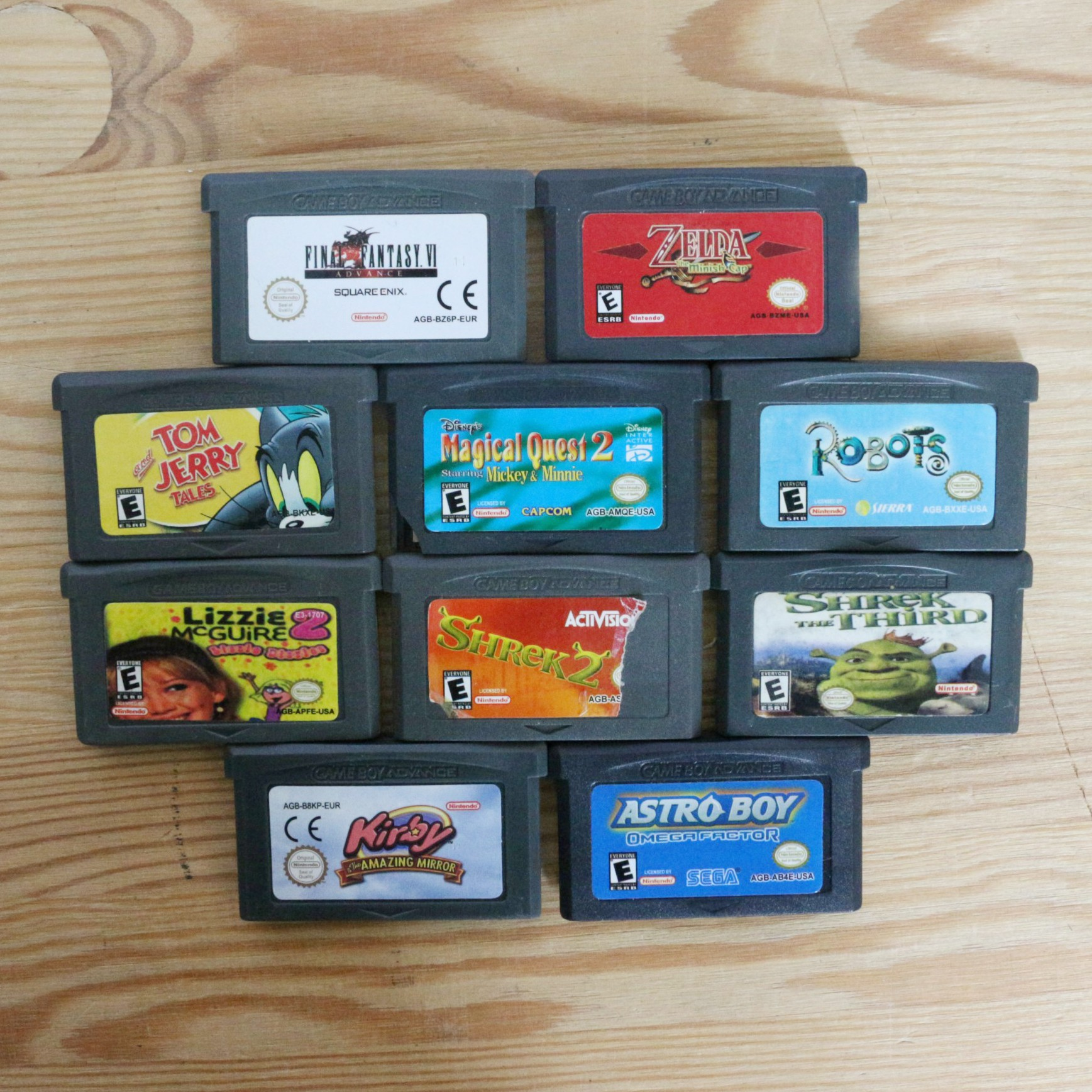 10 GameBoy Spiele zum TOP Preis! - GBA 400