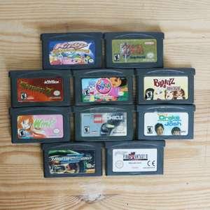 10 GameBoy Spiele zum TOP Preis! - GBA 402