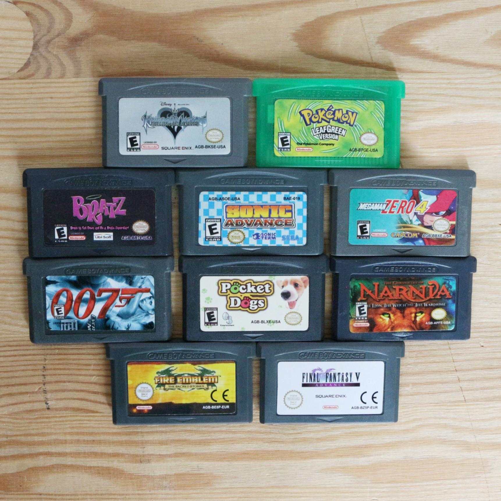 10 GameBoy Spiele zum TOP Preis! - GBA 417