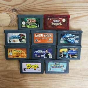 10 GameBoy Spiele zum TOP Preis! - GBA 418