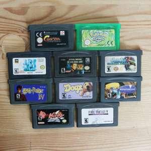 10 GameBoy Spiele zum TOP Preis! - GBA 420