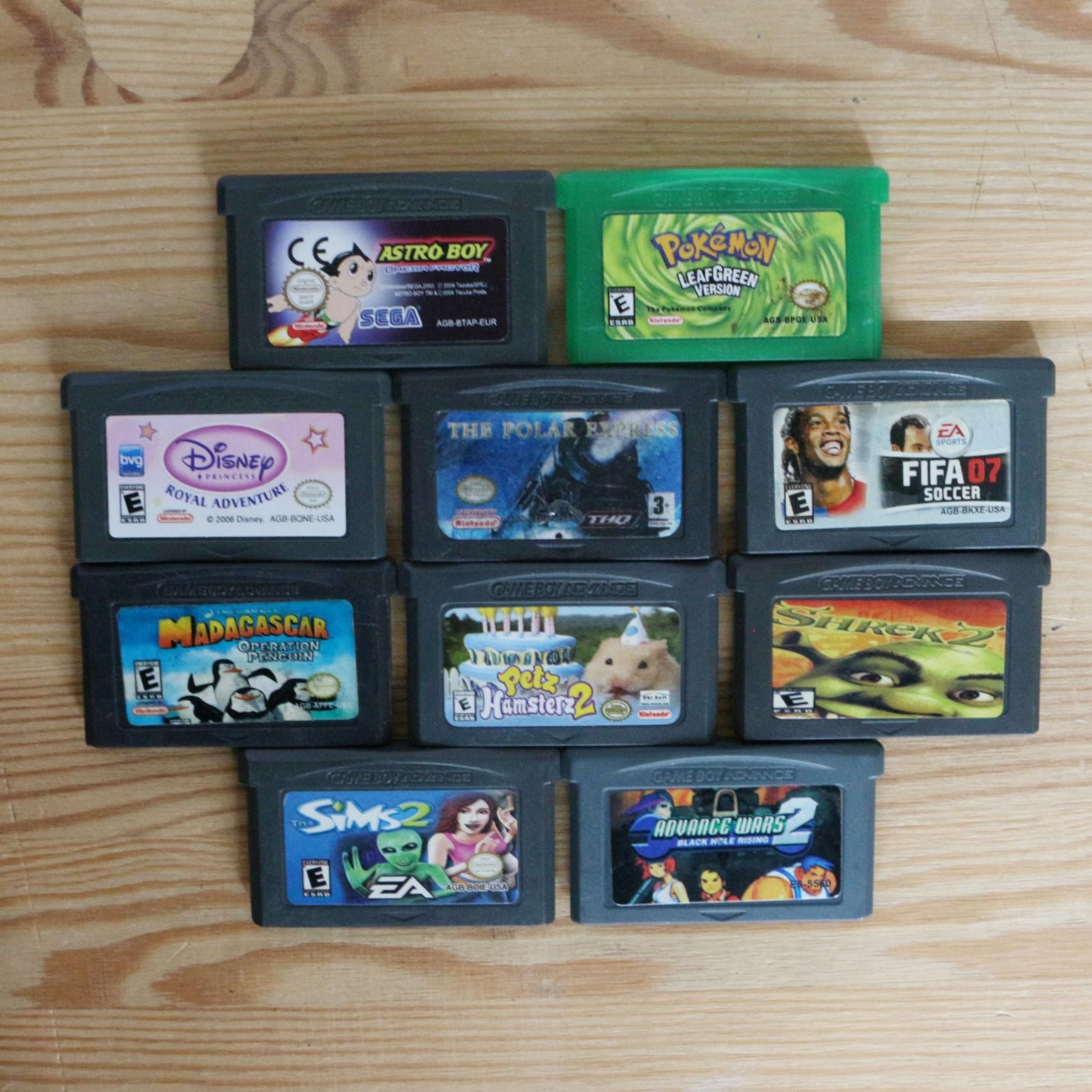 10 GameBoy Spiele zum TOP Preis! - GBA 421