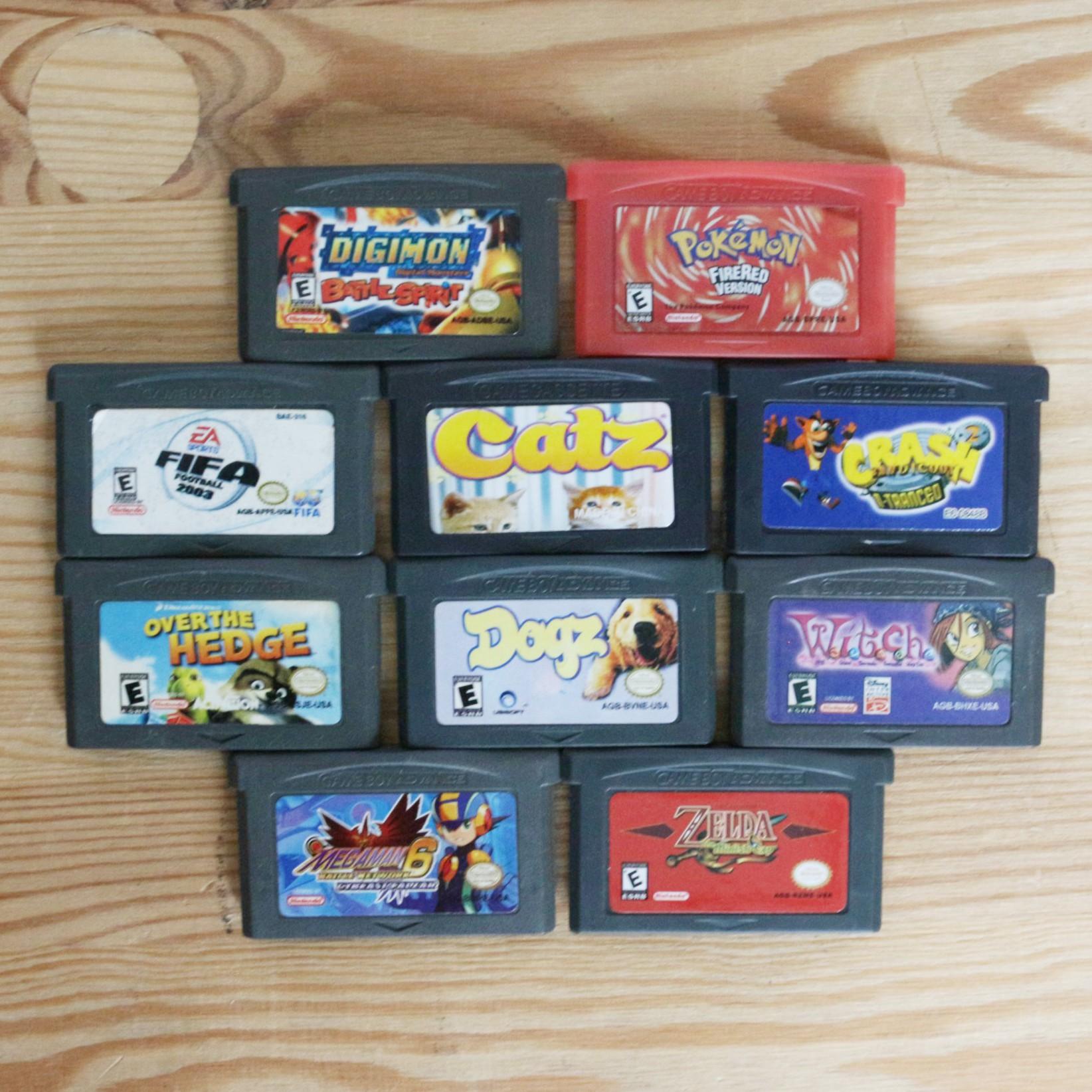 10 GameBoy Spiele zum TOP Preis! - GBA 423