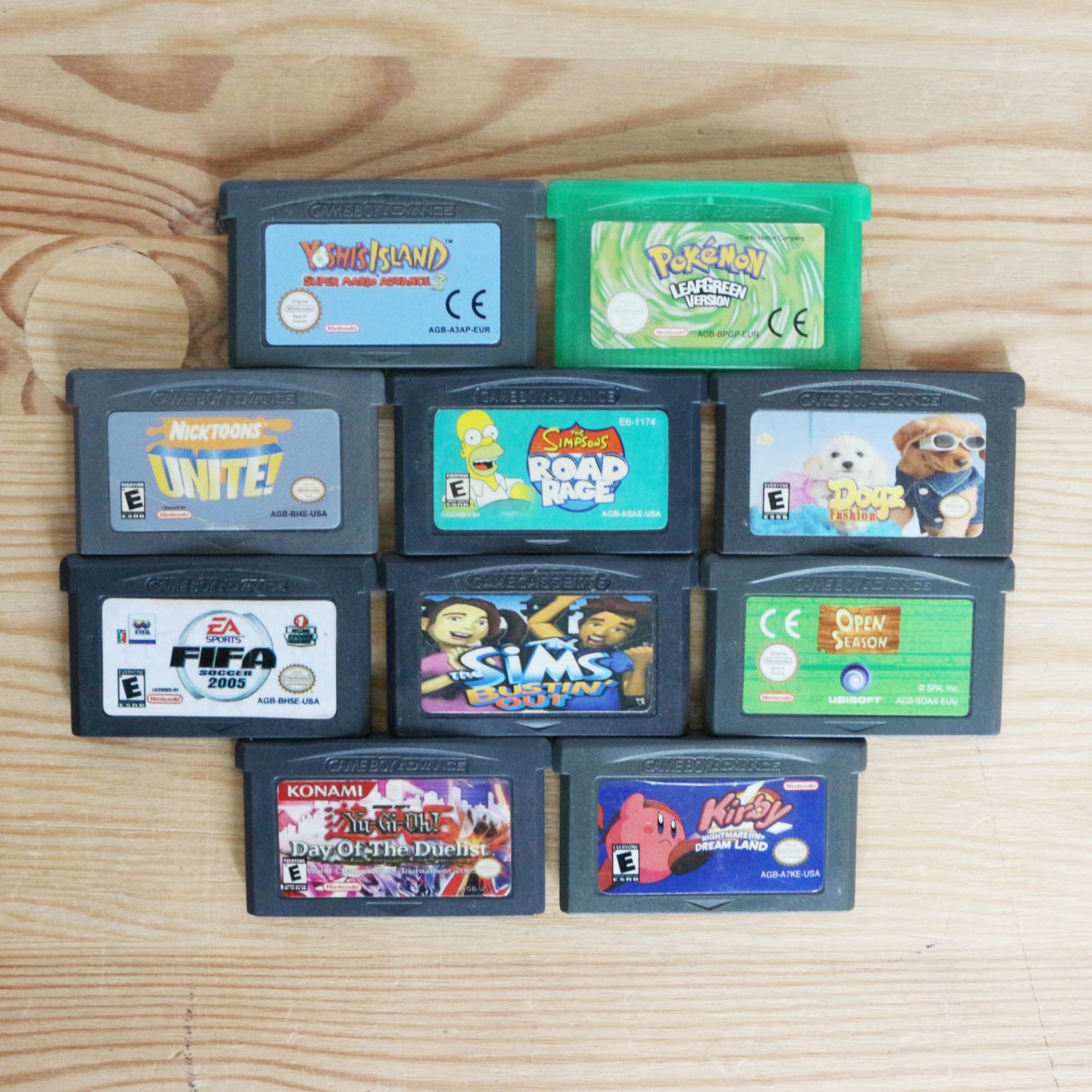 10 GameBoy Spiele zum TOP Preis! - GBA 434