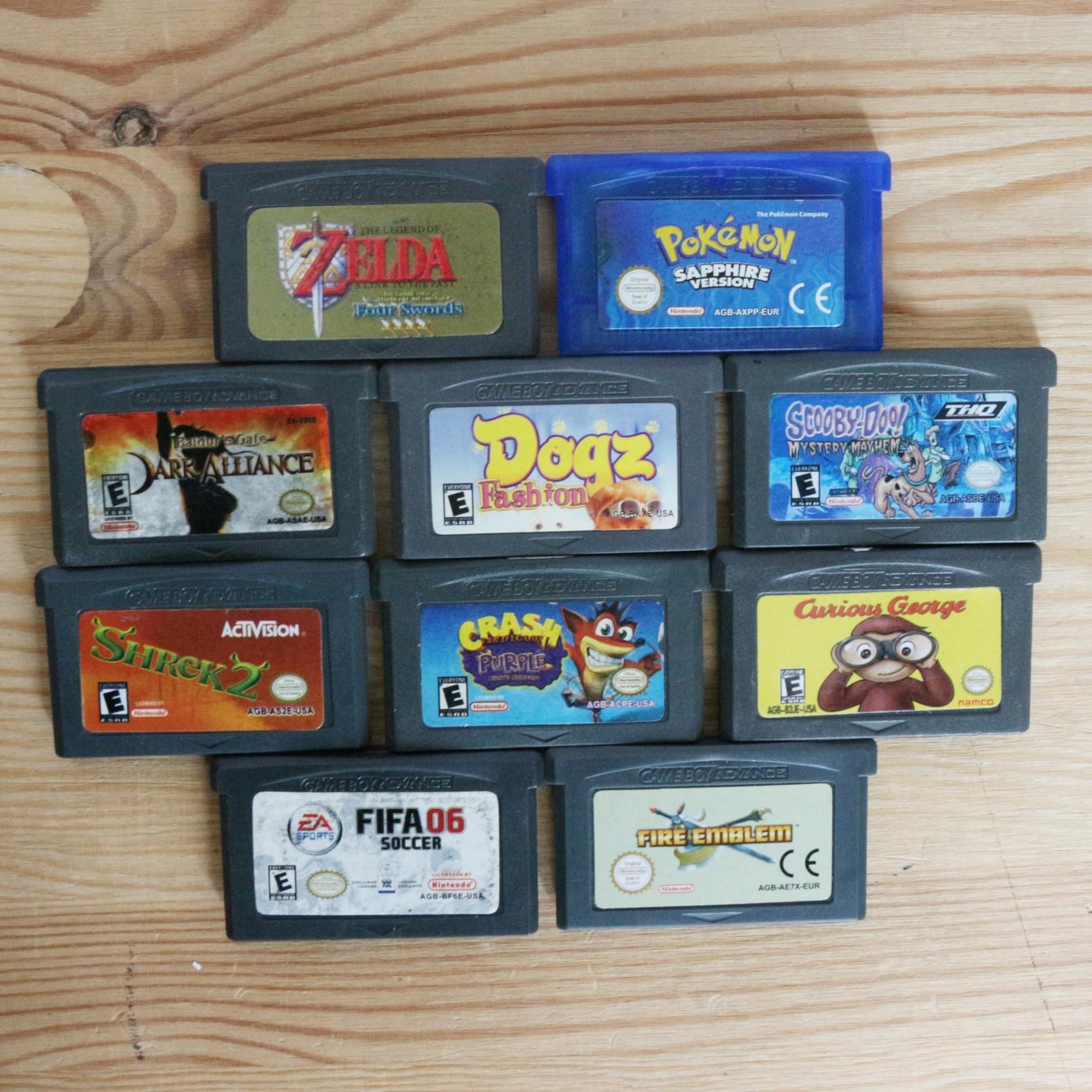 10 GameBoy Spiele zum TOP Preis! - GBA 440