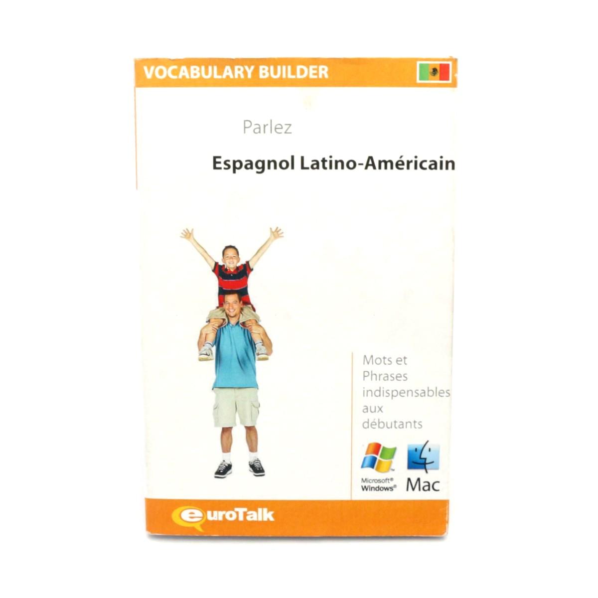 EuroTalk Vocabulary Builder Espagnol Latino-Américain / Lateinamerikanisches Spanisch