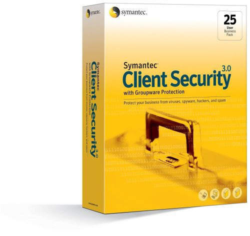 Client Security 3.0 with Groupware Protection Business Pack 25-User Win [Symantec]