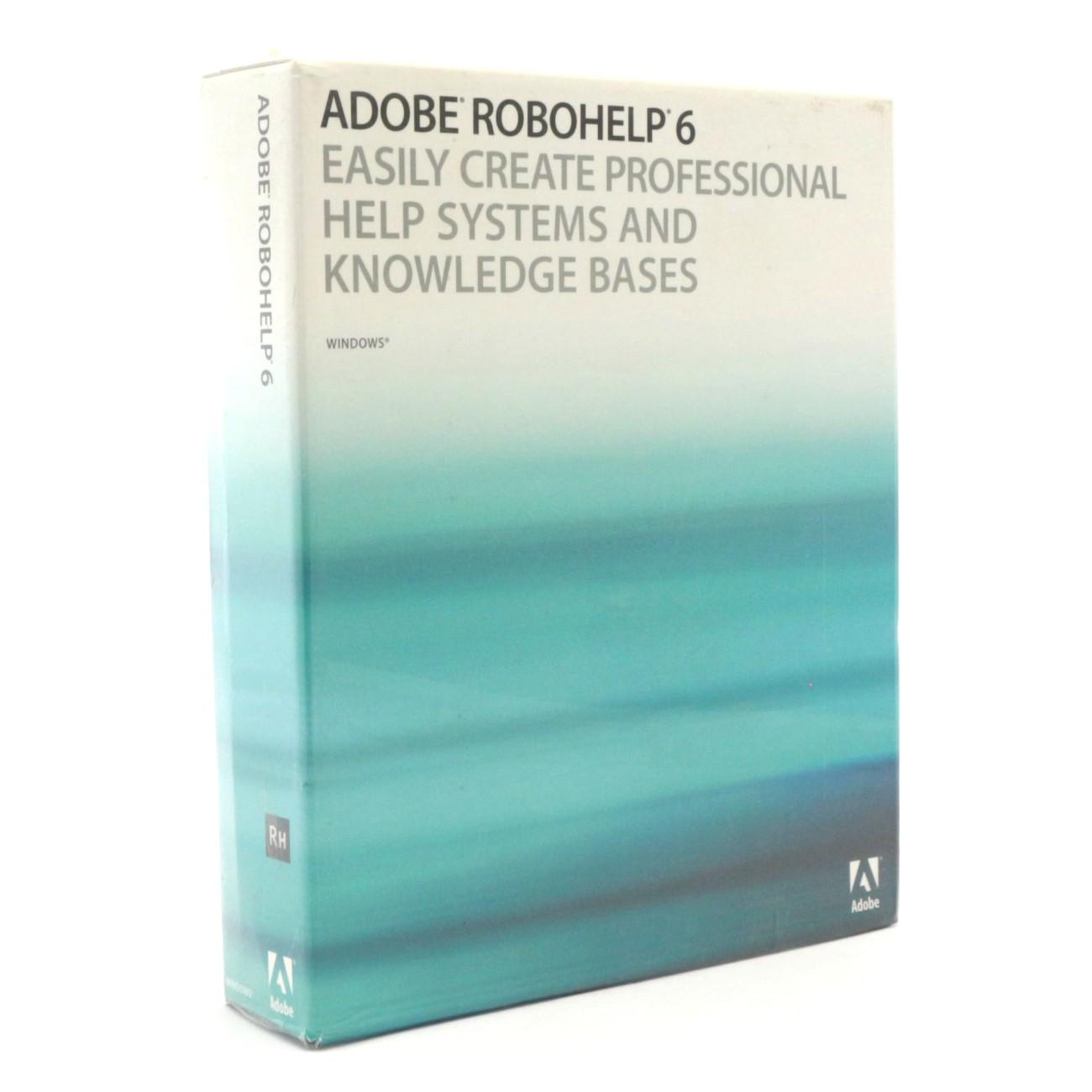 Adobe Robohelp 6