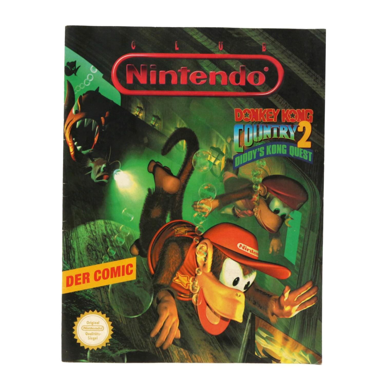 Club Nintendo - Donkey Kong Country 2: Der Comic