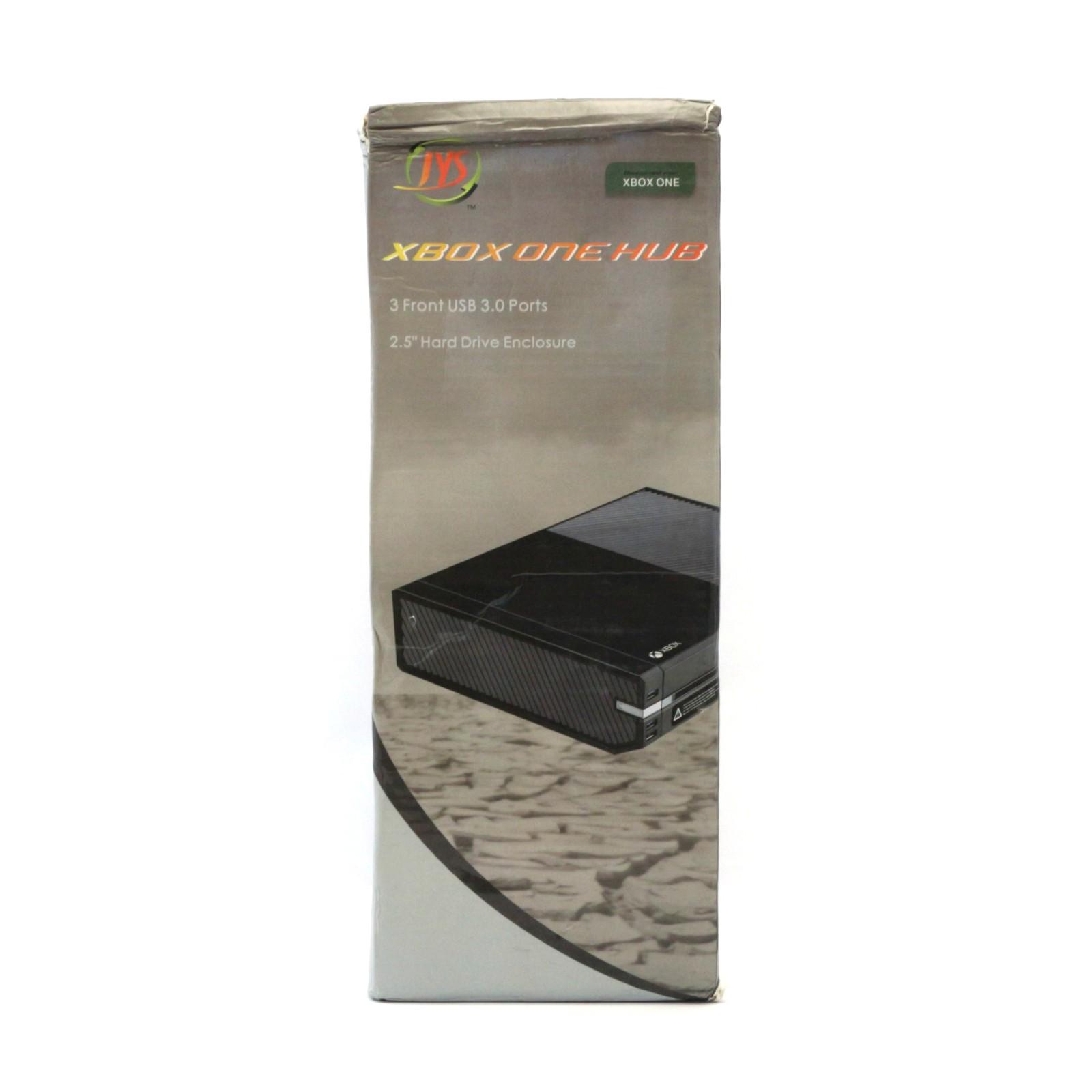 """Festplattengehäuse für 2,5"""" Festplatten + 3x USB 3.0 HUB [Zerone]"""