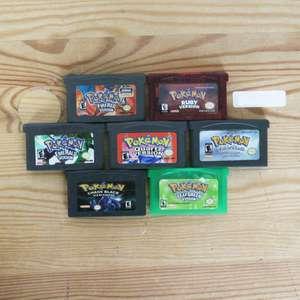 7 Pokemon Spiele zum TOP Preis! - P 001