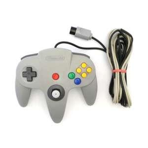 SA 224: Original Nintendo Controller #grau NUS-005 BESCHÄDIGT
