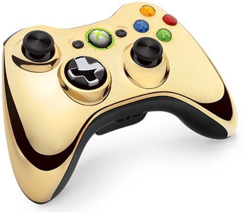Original Wireless Controller #Chrome Gold [Microsoft]