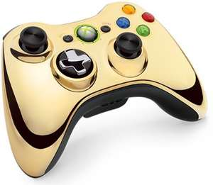 Original Wireless Controller #Chrome Gold [Microsoft]
