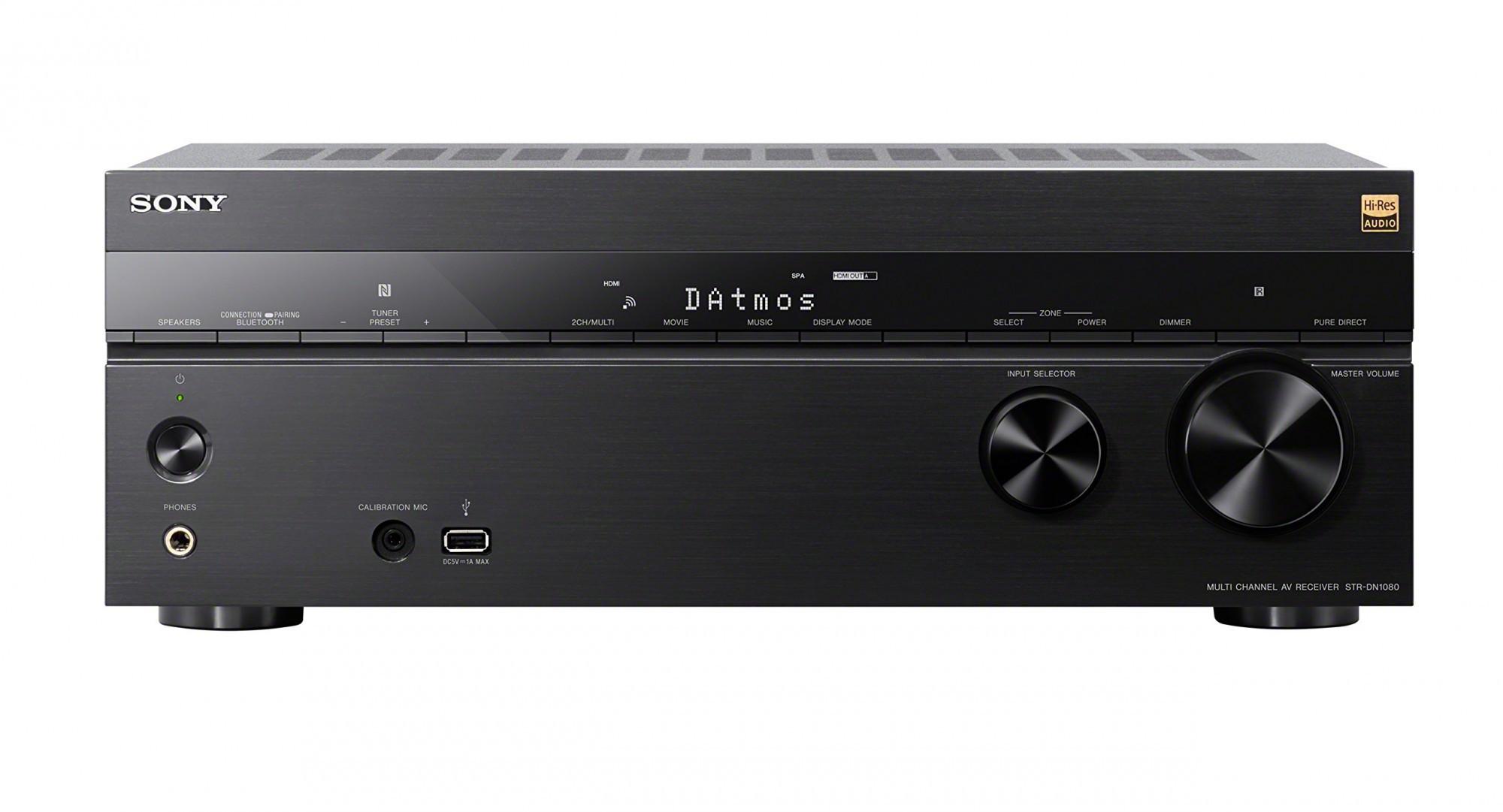 Sony STR-DN1080 7.2 Kanal 4K UHD AV Receiver #schwarz