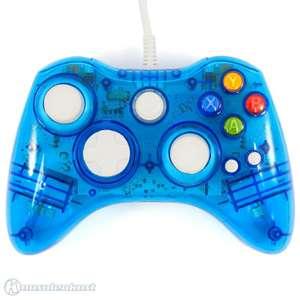 Wired Controller #blau-transparent [Dritthersteller]