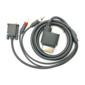 VGA Kabel mit Cinch Audio-Out