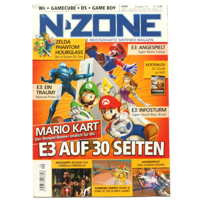 Magazin - N-Zone Ausgabe 125 09/2007