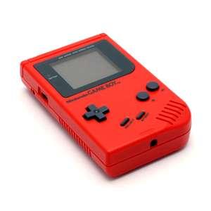 Konsole #Rot Classic DMG-01 Red Zora + Backlight #Rot